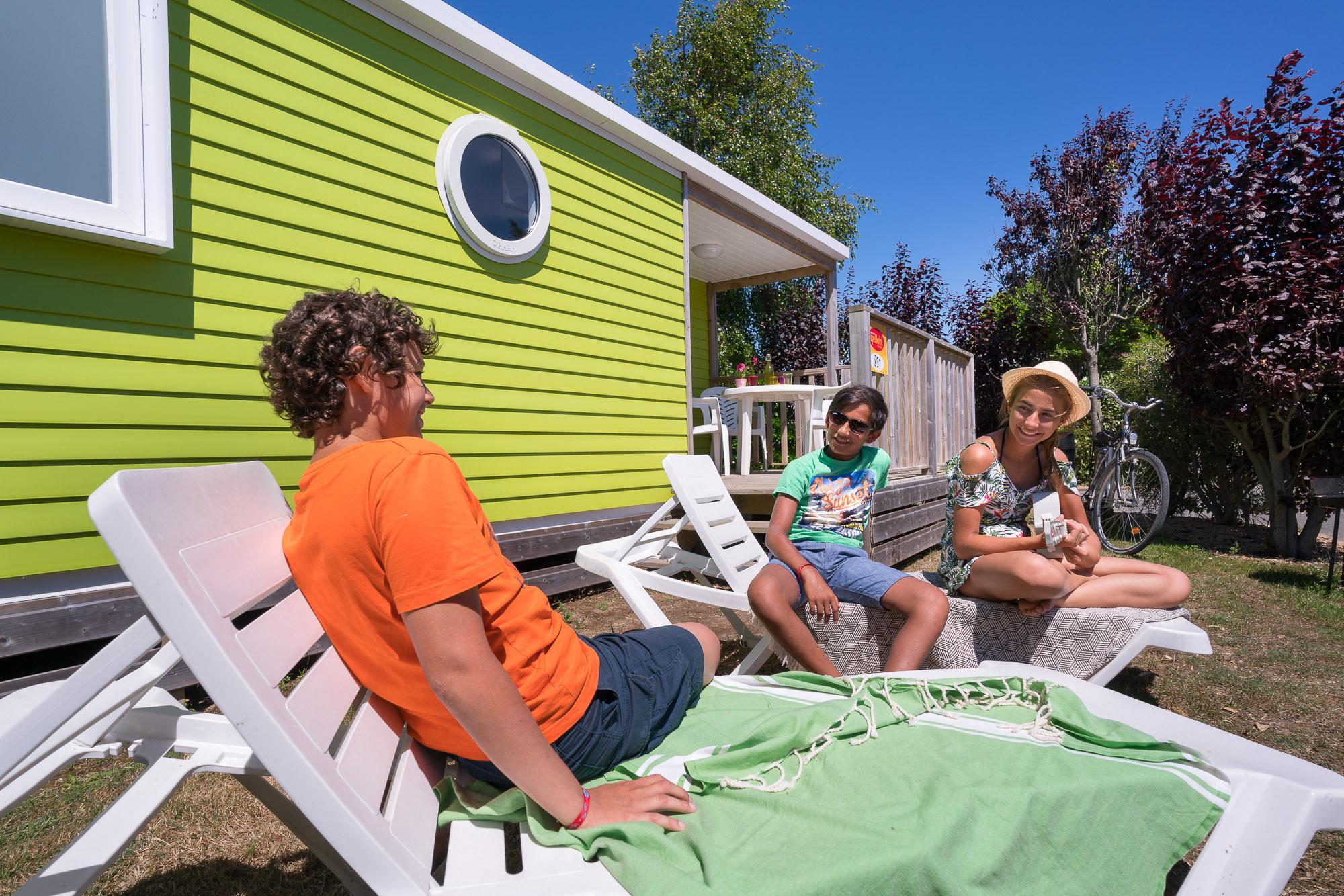 Camping La Plage Hébergement